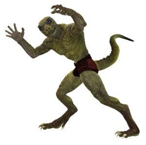 Reptilianos seres sobrenaturales