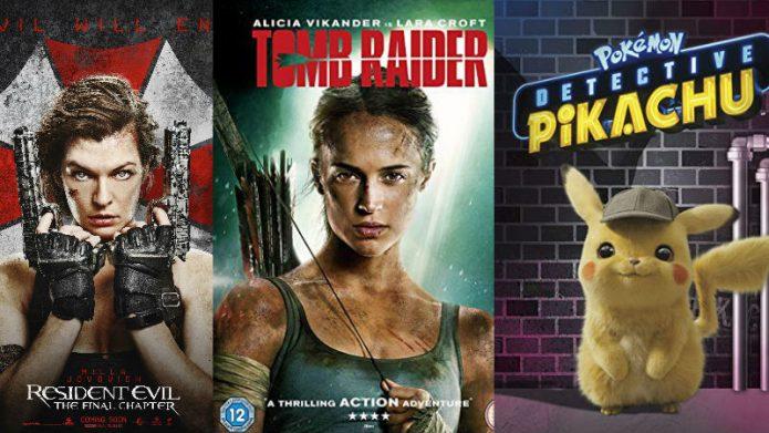 5 mejores películas de videojuegos